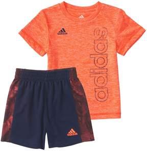 adidas Baby Boy Supreme Speed Graphic Tee & Shorts Set