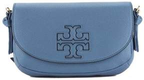 Tory Burch Blue Leather Harper Mini Cross-body Bag - ONE COLOR - STYLE
