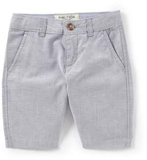 Nautica Little Boys 4-7 Wilkes Flat Front Shorts
