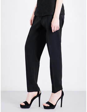 Protagonist Straight mid-rise stretch-wool trousers