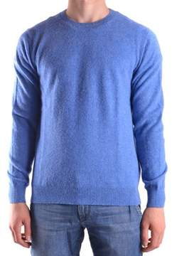 Altea Men's Light Blue Wool Sweater.