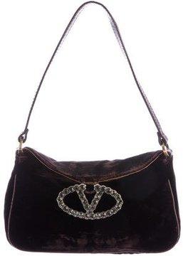 Valentino Velvet Catch Bag