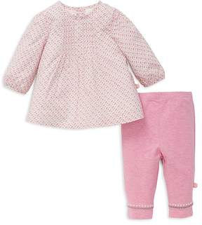 Offspring Girls' Heart-Print Tunic & Leggings Set - Baby