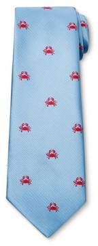 Merona Men's Crab Necktie Blue
