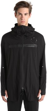 Asics Woven Hooded Water Repellent Jacket