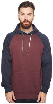 DC Rebel Raglan Pullover Hoodie Men's Clothing