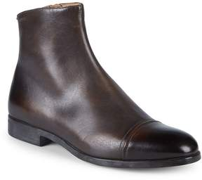 Bally Men's Lamard Leather Ankle Boots