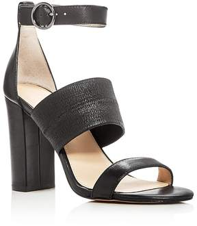 Botkier Gisella Leather Ankle Strap High Heel Sandals