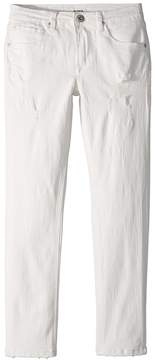 Hudson Jagger Slim Straight Five-Pocket Jeans in Washed Out Boy's Jeans