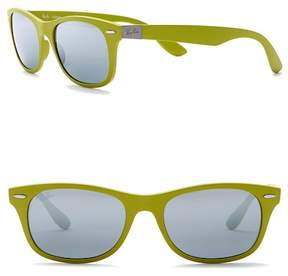 Ray-Ban Square 50mm Matte Sunglasses