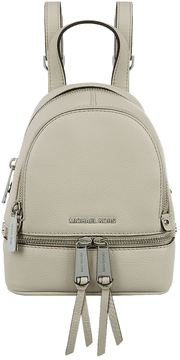 Michael Kors Mini Rhea Zip Backpack - GREY - STYLE