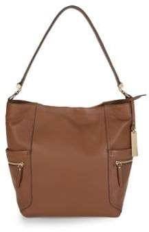 Vince Camuto Utilitarian Leather Tote Bag
