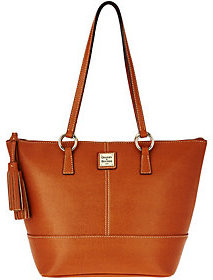 Dooney & Bourke As Is Saffiano Leather Small Tobi Shopper - ONE COLOR - STYLE