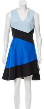 David Koma Colorblock Mini Dress