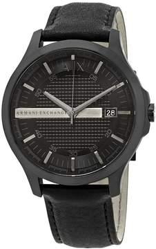 Armani Exchange Hampton Black Dial Men's Watch