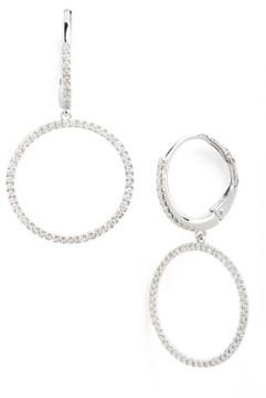 Bony Levy Women's Diamond Frontal Hoop Earrings (Nordstrom Exclusive)