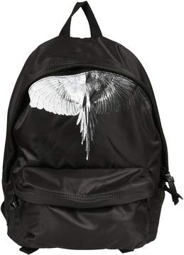 Marcelo Burlon County of Milan Aish Printed Nylon Backpack
