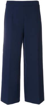 Blugirl wide leg cropped pants