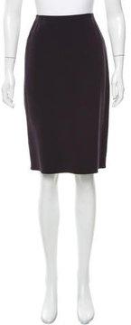 Celine Wool Knee-Length Skirt