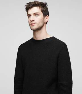 Reiss Orley Ribbed Crew-Neck Jumper