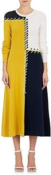 Cédric Charlier Women's Lace-Up Wool-Cashmere Sweaterdress