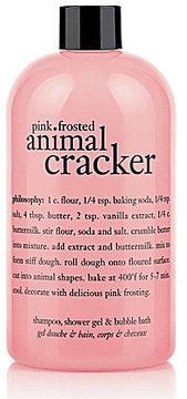 Philosophy Pink Frosted Animal Cracker Shampoo, Shower Gel, & Bubble Bath