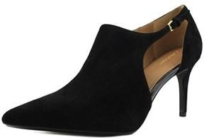 Calvin Klein Giorgia Women Pointed Toe Suede Black Bootie.