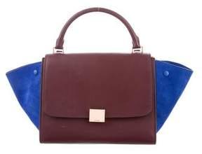Celine Bicolor Small Trapeze Bag