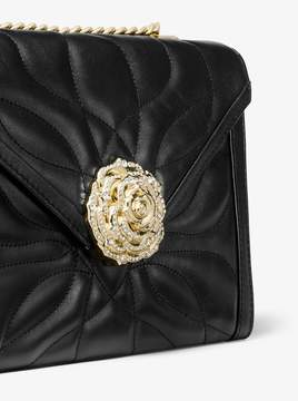 MICHAEL Michael Kors Whitney Large Petal Quilted Leather Convertible Shoulder Bag