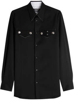 Calvin Klein Wool Western Shirt