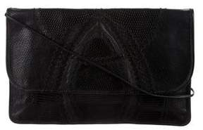 Carlos Falchi Vintage Patchwork Snakeskin Crossbody Bag