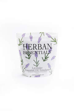 Herban Essentials Mini Lavender Essential Oil Towelettes