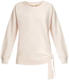 Vanessa Bruno Ianka side-tie wool cashmere-blend sweater