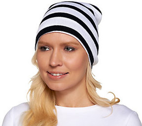 Collection XIIX Collection 18 Bold Striped knit Beanie