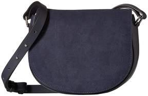 French Connection Silvia Saddle Bag Cross Body Handbags