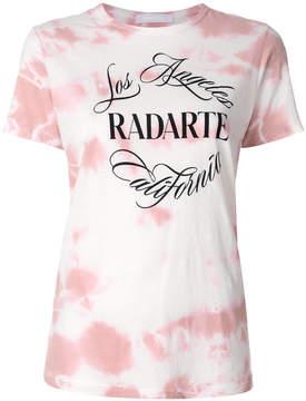 Rodarte tie-dye logo T-shirt