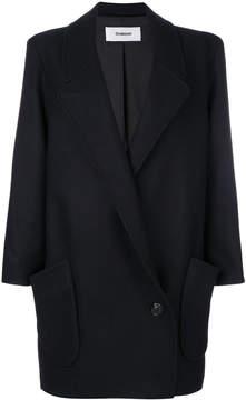 Chalayan signature station pocket coat