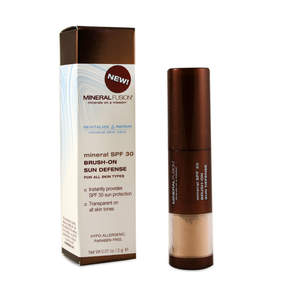 Mineral SPF 30 Brush-On Sun Defense by Mineral Fusion (0.07oz Powder)