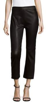 IRO Beck Cropped Leather Leggings