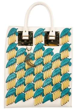 Sophie Hulme Embellished Leather Tote