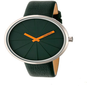 Simplify Unisex Green Strap Watch-Sim4002