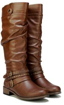 XOXO Women's Marlena Wide Calf Tall Boot