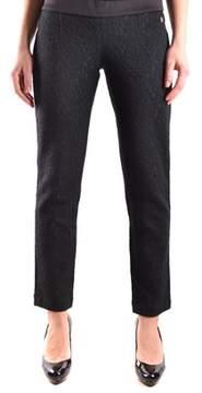 Dirk Bikkembergs Women's Black Wool Pants.