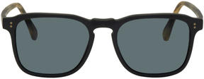 Raen Black and Tortoiseshell Wiley Sunglasses