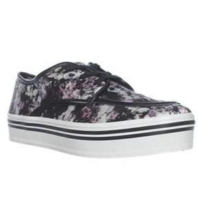 Dolce Vita Jaimee Platform Fashion Sneakers, Floral Print.