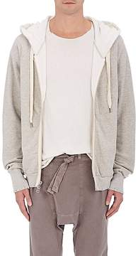 NSF Men's Distressed Cotton Oversized Hoodie
