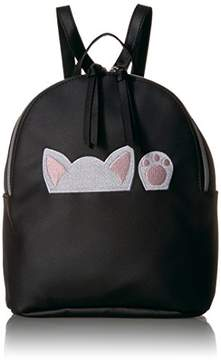 T-Shirt & Jeans Peeking Cat Back Pack