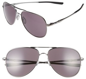 Oakley Men's Elmont 60Mm Aviator Sunglasses - Silver