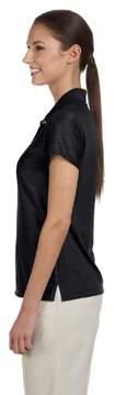 adidas A131 Ladies ClimaLite Basic Polo - Black, Medium