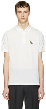 Paul Smith White Dinosaur Polo